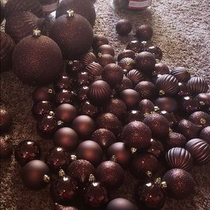 Other - Bronze Christmas tree ornaments